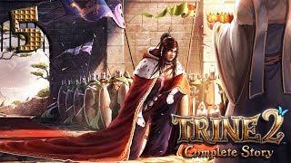 Trine 2: Complete story прохождение на геймпаде часть 5 Варим пузыри и волшебные зеркала