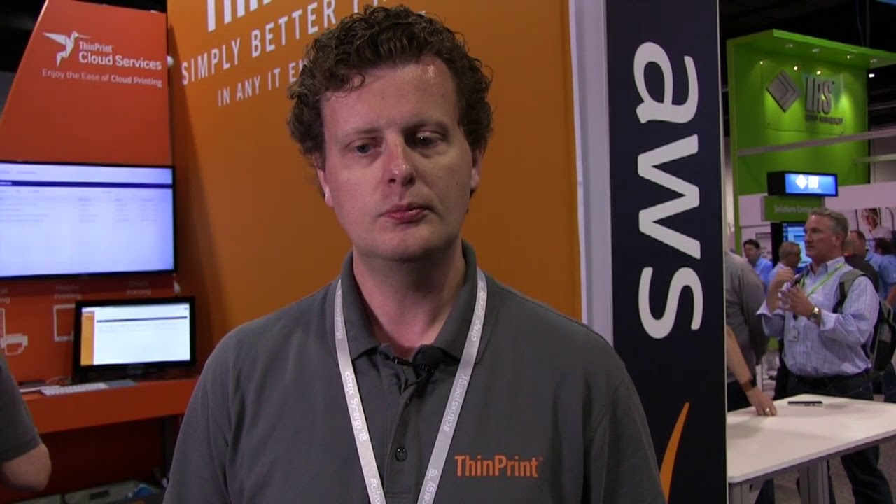 CitrixSynergy 2018 ThinPrint Video Interview with VMblog : @VMblog
