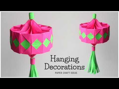 diy-paper-decorations-|-diy-wall-hanging-decor-|-easy-origami-craft-ideas