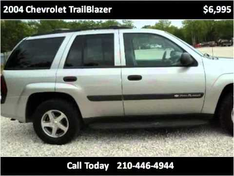 2004 Chevrolet TrailBlazer Used Cars San Antonio TX