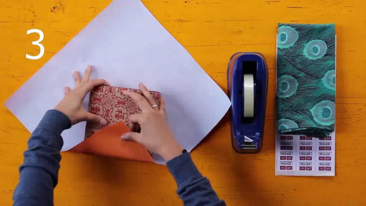 Как упаковывать подарки пошаговая инструкция 32