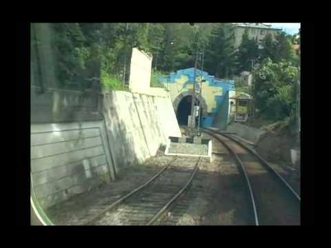 Электричка ЭД4МК-0083 : Якорная щель - Адлер