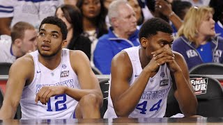 Kentucky basketball: Where does the 2015 squad rank among the greats to come up short?