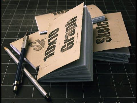 DIY Pocket Notebook - Book Binding