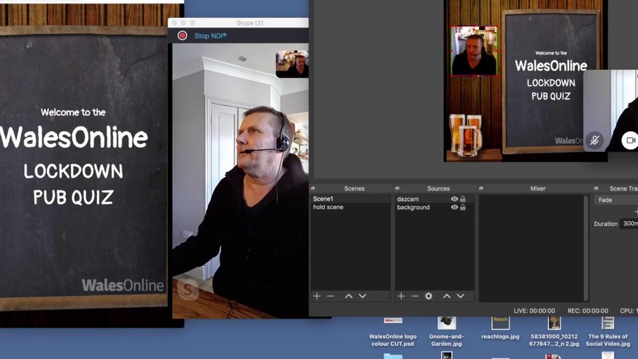Pub quiz -  part 2 adding a remote host/presenter over Skype