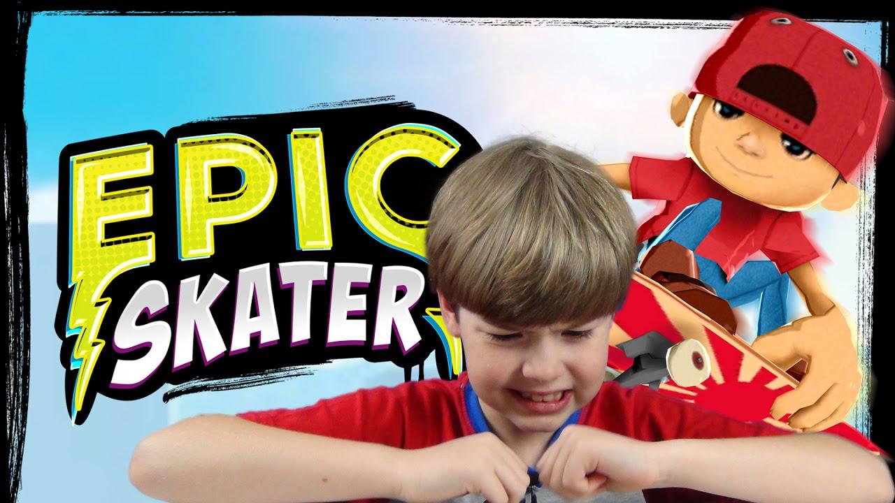EPIC Skater | Mobile Games | KID Gaming - YouTube