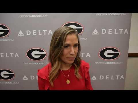 Courtney Kupets Carter Interview – Georgia vs. Florida – UGA gymnastics – February 16, 2018