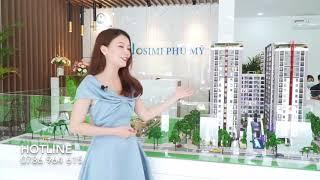 Giới thiệu về căn 2 PN - Căn hộ Osimi Phú Mỹ Hotline 0786964615