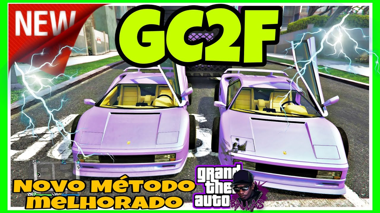 GTA V **NEW** GC2F NOVO MÉTODO MELHORADO PARA PEGAR CARROS DOS AMIGOS PS4 /XBOX PS5