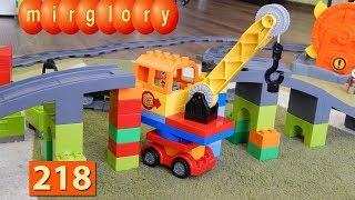 Машинки Мультики про Паровозики Мост Кран Город машинок 218 серия Мультики для детей игрушки