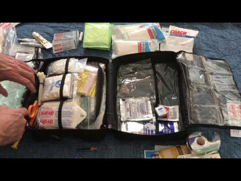 First Aid Kit - For Home & Group Travel