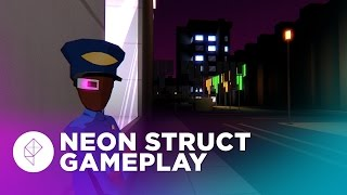 Neon Struct Gameplay Overview - Thief meets Deus Ex with minimalist graphics!
