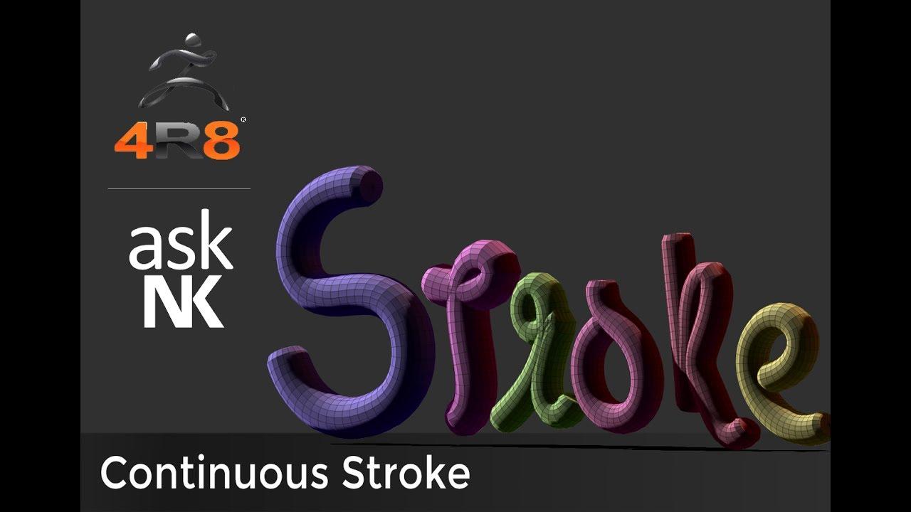 Zbrush Stroke Hotkey