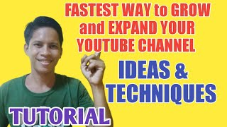 FASTEST WAY TO GŔOW YOUR SUBSCRIBERS AND EXPAND UR YT CHANNEL/ TECHNIQUE &IDEAS