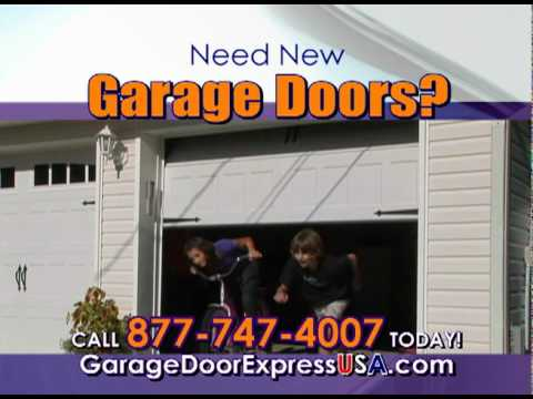 Garage Door Express Installation And Repairs For Residential And Commercial
