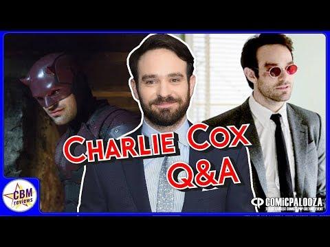 Charlie Cox panel @ Comicpalooza 2018 Part 1