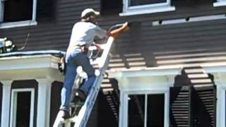 Removing clapboards