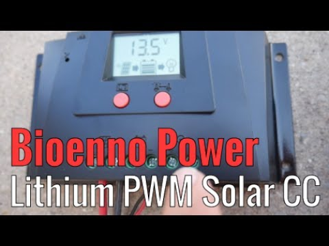 Bioenno Power PWM Lithium Charge Controller (SC-122420JUD) for Lithium Iron Phosphate LiFePO4