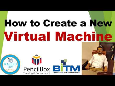 How to Create a New Virtual Machine in VMWare