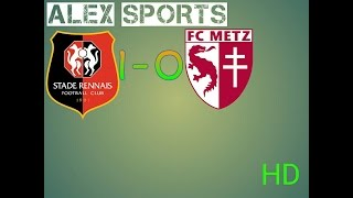 Video Gol Pertandingan Stade Rennes vs FC Metz