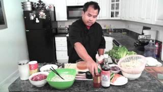 Bánh Xèo (vietnamese Crispy Shrimp And Pork Crepe)