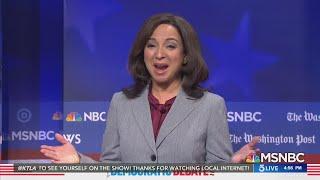 Maya Rudolph says she is open to return to 'SNL' as Kamala Harris
