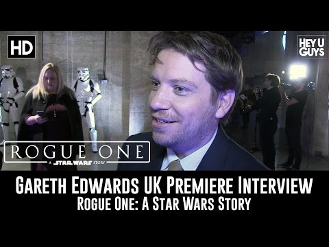 Director Gareth Edwards UK Premiere Interview - Rogue One: A Star Wars Story