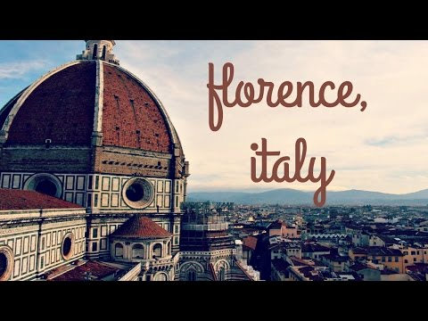 Traveling Around FLORENCE, ITALY! | Sarah Hasselberger