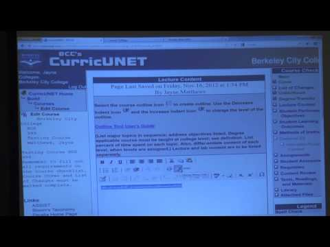 P-SPAN #288: How to Use CurricuNet