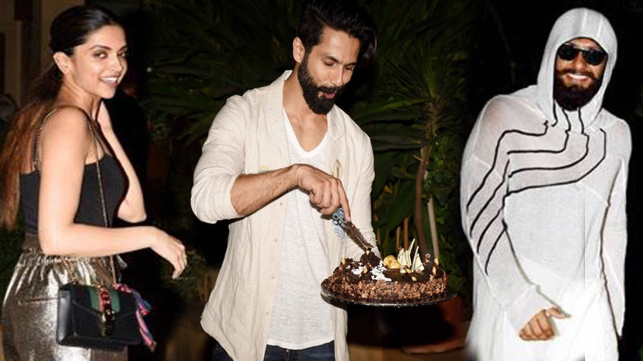 Shahid Kapoor Birthday Party 2017| Deepika Padukone ...