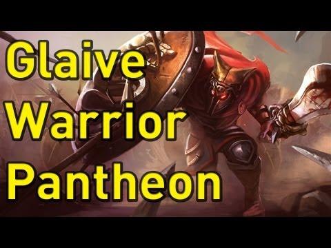 ♥ Pantheon Skins - Glaive Warrior Pantheon