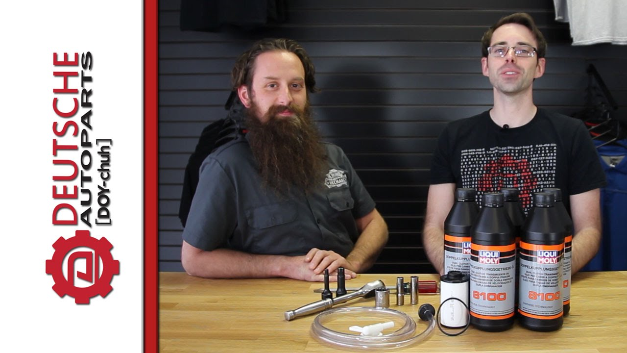 medium resolution of how to diy perform a dsg service on a vw and audi transmission dsg service kit youtube