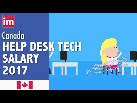 Help Desk Technician Salary in Canada | Jobs in Canada