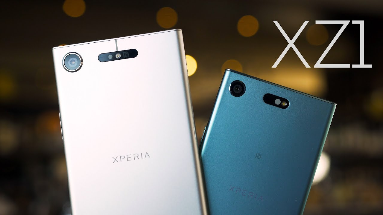 Sony Xperia XZ1 & XZ1 Compact Hands On & First Impressions ...