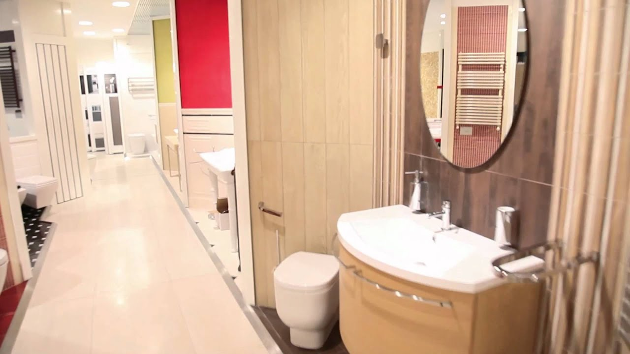 Arredo bagno Expò showroom a Roma - YouTube