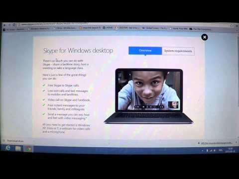 How To Get Skype Desktop Version In Windows 8 Update