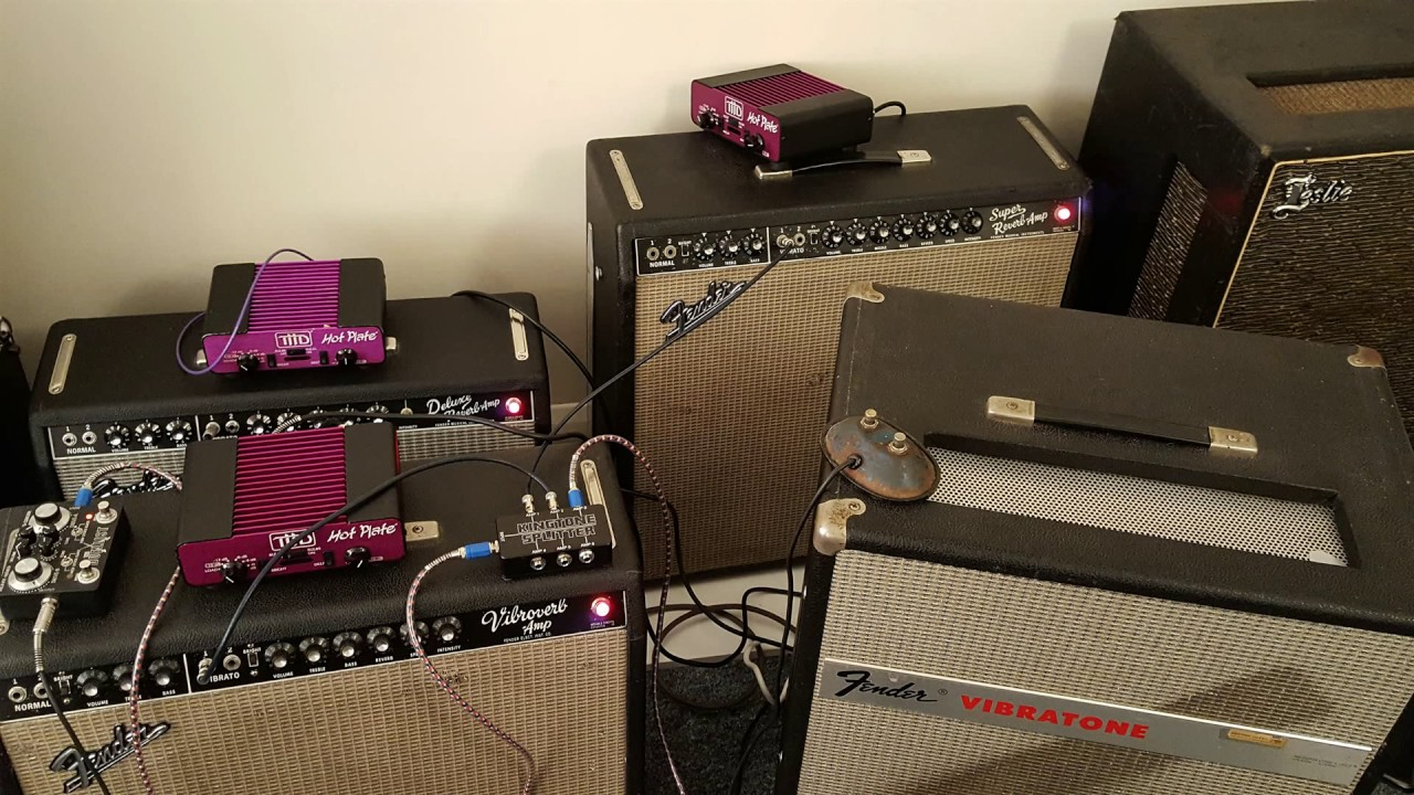 Stevie Ray Vaughan Amp Setup w/ Chris King Robinson - YouTube