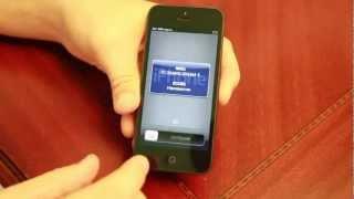 видео Как вставить сим карту в айфон 5. Обрезка стандартной
