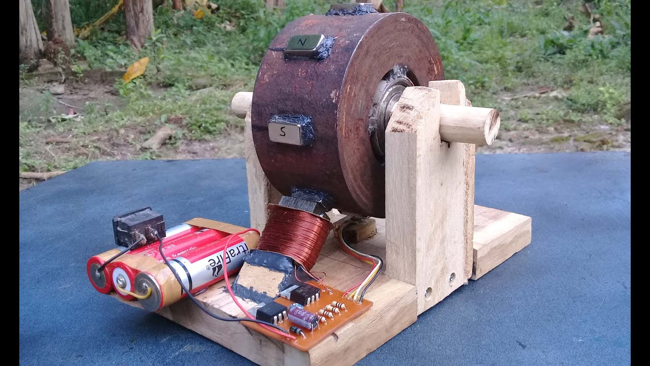 DIY Bedini Motor - Part2 - Cara Membuat Bedini Motor - YouTube
