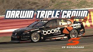 Assetto Corsa: Darwin Triple Crown (V8 Supercar @ Hidden Valley)