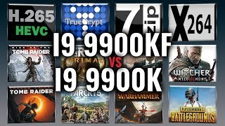 Intel i9 9900KF vs i9 9900K Benchmarks | Test Review | Comparison | Gaming | 13 Tests