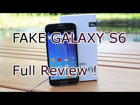 Samsung Galaxy S6 - Fake 1:1 Clone for 100$ - HDC S6 Replica Review [HD]