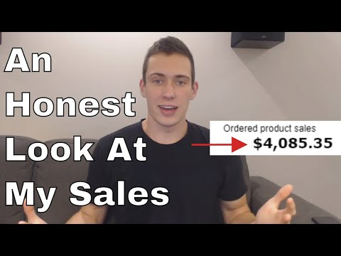 OVER $4000 In MONTH 2! Revealing my Sales and Profits! Amazon FBA Profit Report #3