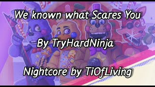 Nightcore   We know what Scares You by TryHardNinja Resimi
