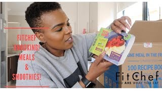 FITCHEF UNBOXING VLOG| 1 MEAL, 1 SMOOTHE A DAY, KIDS MEALS TOO!| HEALTHY LIVING