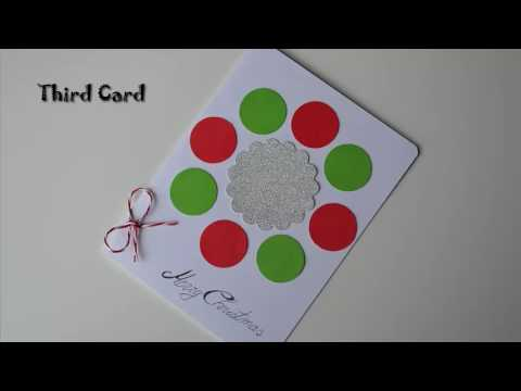 5 Christmas & New Year Gift Cards   DIY Paper Crafts Presents