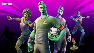 ZOMBIES are BACK!! Winning in Solos! (Fortnite Season 4)