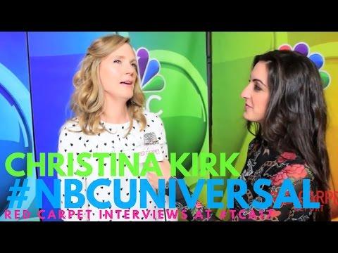 Christina Kirk #Powerless interviewed at NBCUniversal's Winter 2017 Press TCA Tour #NBCU #TCA17