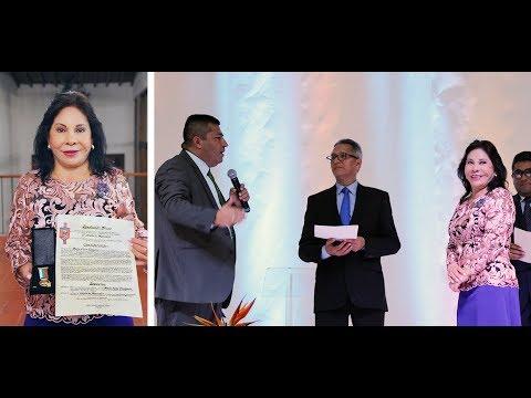 Alcalde y Concejo de Manizales hacen reconocimientos a la hermana María Luisa Piraquive