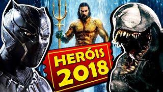 8 FILMES DE SUPER HERÓIS MAIS ESPERADOS DE 2018
